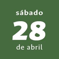 Día 12 - Sábado 28 de abril de 2018